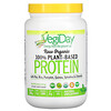 Natural Factors, Raw Organic 100% Plant-Based Protein, Natural Unflavored, 0.9 lb (417 g)
