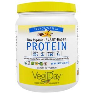 Натурал Факторс, Raw Organic, Plant-Based Protein, French Vanilla, 1.2 lbs (545 g) отзывы
