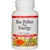 Natural Factors, Bee Pollen Plus Energy, 90 Capsules (Discontinued Item)