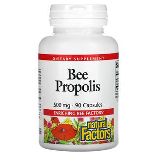 Natural Factors, عكبر النحل، 500 ملجم، 90 كبسولة