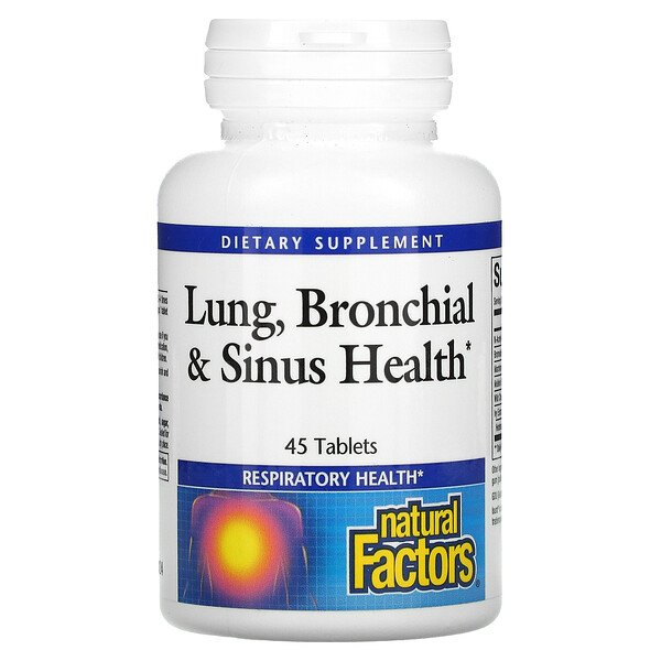 Lung, Bronchial & Sinus Health, 45 Tablets