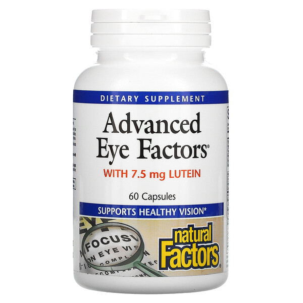 Advanced Eye Factors, 60 капсул