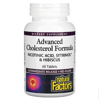 Natural Factors, Advanced Cholesterol Formula, 60 Tablets