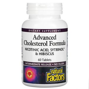 Natural Factors, Advanced Cholesterol Formula, 60 Tablets'