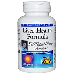 Natural Factors, Liver Health Formula, 60 Capsules