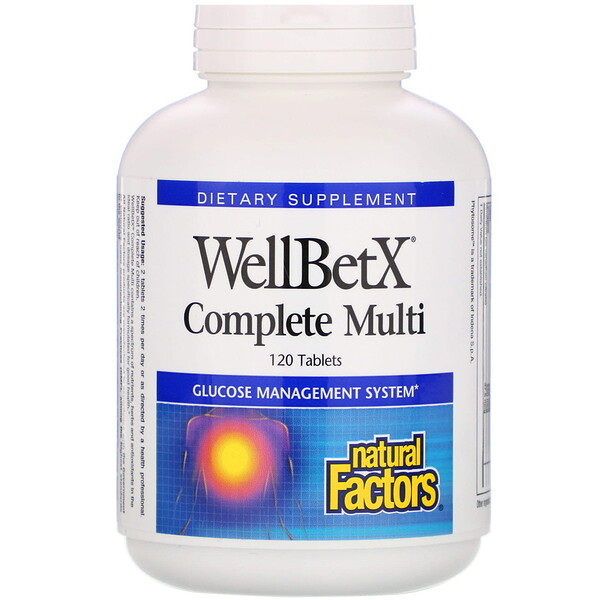 WellBetX Complete Multi, 120 Tablets
