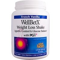 WellBetX, Средство для похудения, французская ваниль, 1,9 фунтов (854 г) - фото