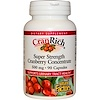Natural Factors, CranRich, Super Strength, Cranberry Concentrate, 500 mg, 90 Capsules
