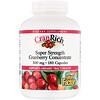 Natural Factors, クランリッチ、スーパーストレングス・クランベリー濃縮エキス、500 mg、180カプセル
