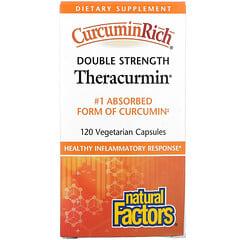 Natural Factors, CurcuminRich,雙效Theracurmin,120粒素食膠囊