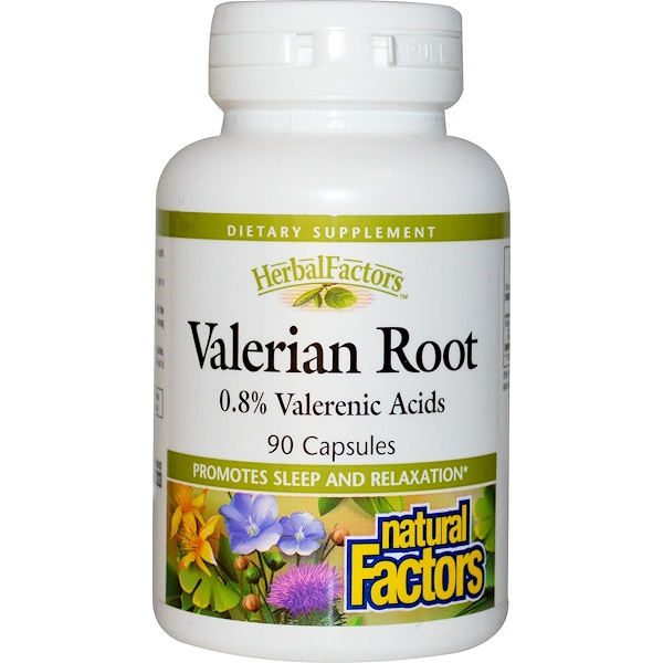 Natural Factors, Valerian Root, 90 Capsules (Discontinued Item)