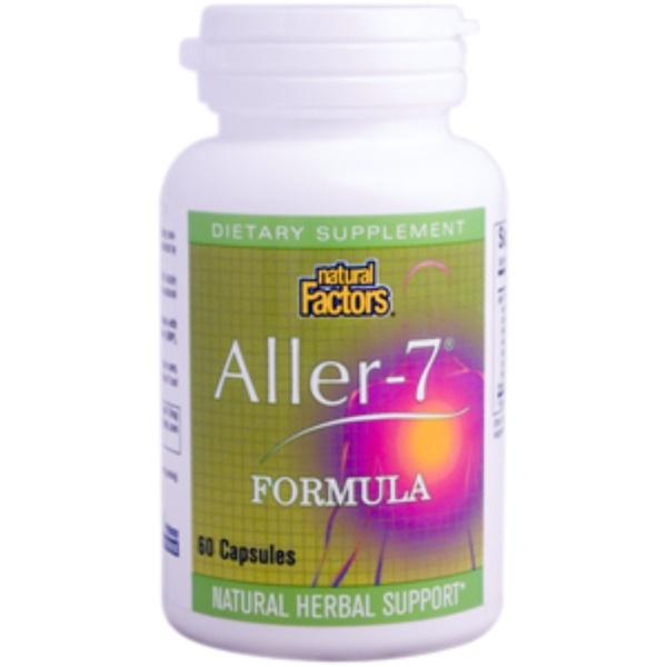 Natural Factors, Aller-7 Formula, 60 Capsules (Discontinued Item)