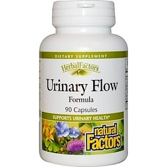 Natural Factors, Urinary Flow Formula, 90 Capsules
