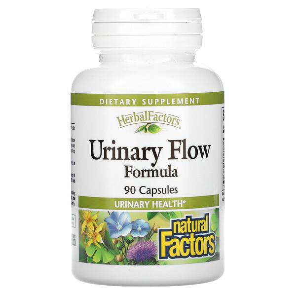 Natural Factors, Urinary Flow Formula, 90 Capsules