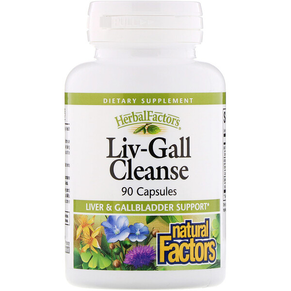 Natural Factors, Liv-Gall Cleanse, 90 캡슐