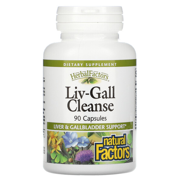 Natural Factors, Liv-Gall Cleanse, 90 Capsules