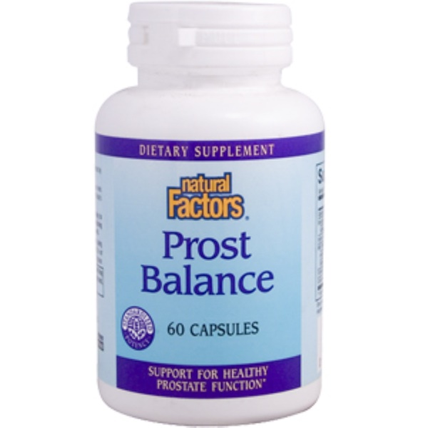 Natural Factors, Prost Balance, 60 Caps (Discontinued Item)