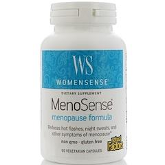Natural Factors, WomenSense, MenoSense, Menopause Formula, 90 Vegetarian Capsules