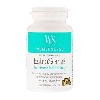 Natural Factors, WomenSense, EstroSense, Hormonal Balance, 60 Vegetarian Capsules