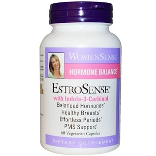 Natural Factors, WomenSense, EstroSense, Hormonal Balance, 60 Vegetarian Capsules