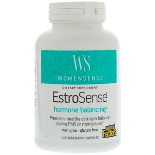Natural Factors, WomenSense, EstroSense, 120 Vegetarian Capsules