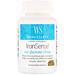 WomenSense, IronSense, глицинат железа, 20 мг, 60 вегетарианских капсул - изображение