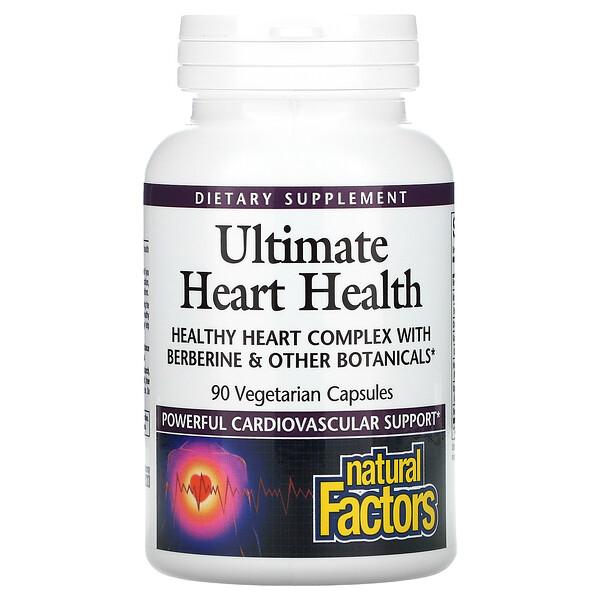 Natural Factors, Ultimate Heart Health, 90 Vegetarian Capsules