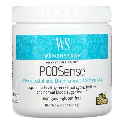 Купить Natural Factors Womensense, PCOSense, 4.55 oz ( 129 g)