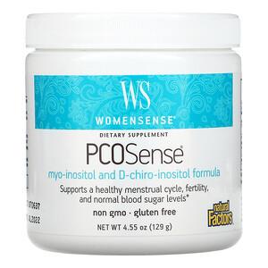 Natural Factors, Womensense, PCOSense, 4.55 oz (129 g)