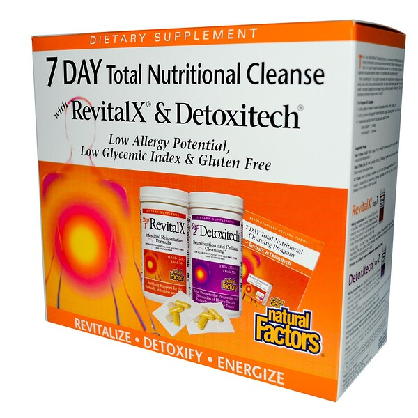 Natural Factors, 7 Day Total Nutritional Cleansing Program Kit (Discontinued Item)