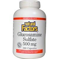 Глюкозамин сульфат, 360 капсул - фото