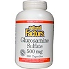 Natural Factors, Glucosamine Sulfate, 500 mg, 360 Capsules