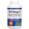Natural Factors, Rx Omega-3 Factors, EPA 400 mg/DHA 200 mg, 240 Softgels