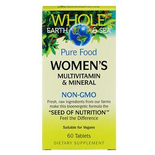 Natural Factors, ホールアース&シー、女性のマルチビタミン&ミネラル、 60錠