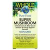 Natural Factors, Whole Earth & Sea, Super Mushroom, 60 Vegetarian Capsules