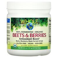 Natural Factors, Whole Earth & Sea, Beets & Berries Antioxidant Boost, 6.6 oz (187 g)