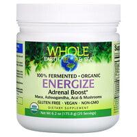 Natural Factors, Whole Earth & Sea, Energize Adrenal Boost, 6.2 oz (175.8 g)