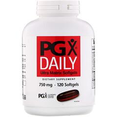Natural Factors, PGX Daily, Ultra Matrix Softgels, 750 mg, 120 Softgels