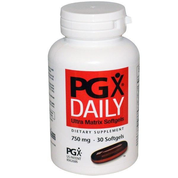 Natural Factors, PGX Daily, Ultra Matrix Softgels, 750 mg, 30 Softgels (Discontinued Item)