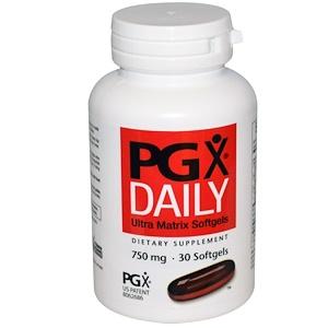 Натурал Факторс, PGX Daily, Ultra Matrix Softgels, 750 mg, 30 Softgels отзывы