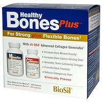 BioSil, Healthy Bones Plus, Здоровые кости, Программа из двух этапов - фото