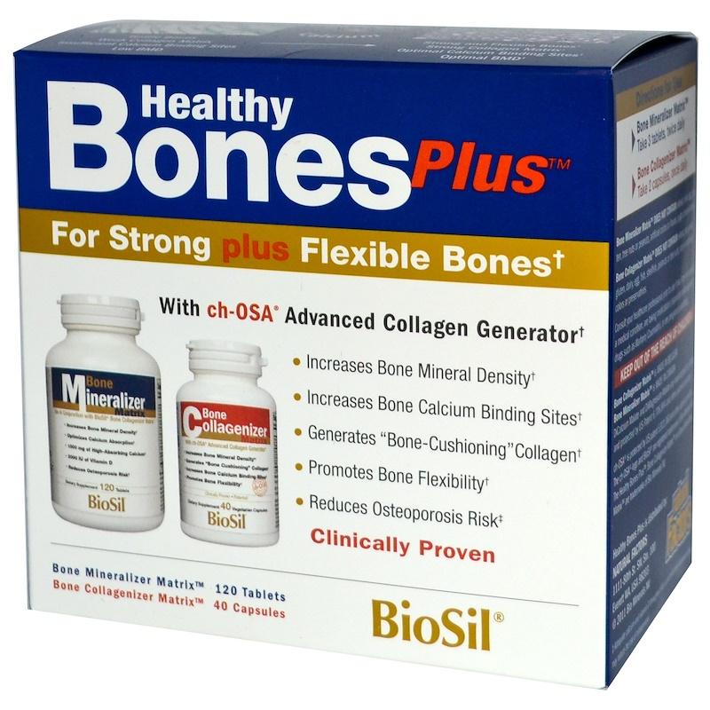 BioSil by Natural Factors, 健康骨骼加,兩部分計畫