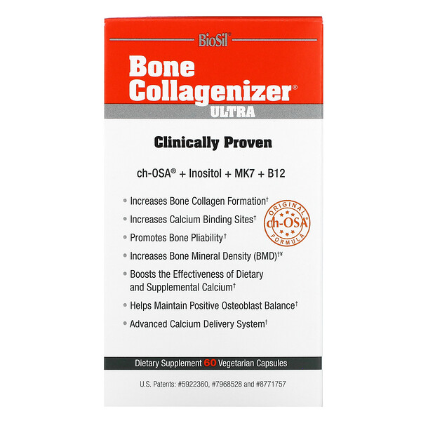 Bone Collagenizer Ultra, 60 Vegetarian Capsules