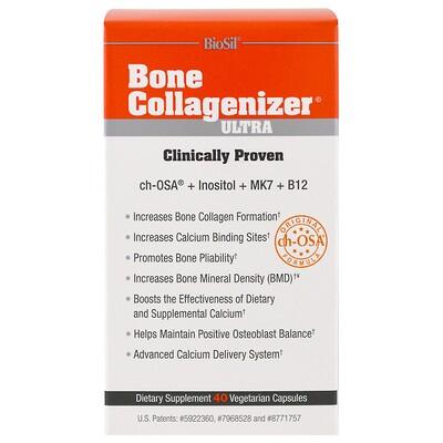 BioSil, Bone Collagenizer Ultra, 40 Vegetarian Capsules
