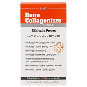 BioSil by Natural Factors, Bone Collagenizer Ultra, 40 Vegetarian Capsules отзывы