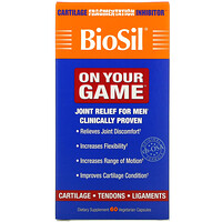 BioSil by Natural Factors, On Your Game, 60 Vegetarian Capsules