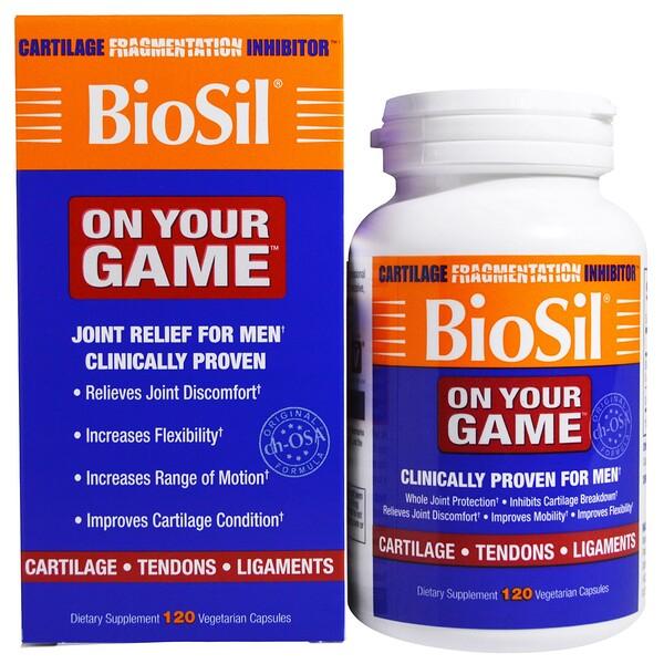 Natural Factors, BioSil, On Your Game, 120 Vegetarian Capsules (Discontinued Item)