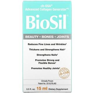BioSil by Natural Factors, ch-OSA Advanced Collagen Generator, 15 мл (0,5 жидкой унции)