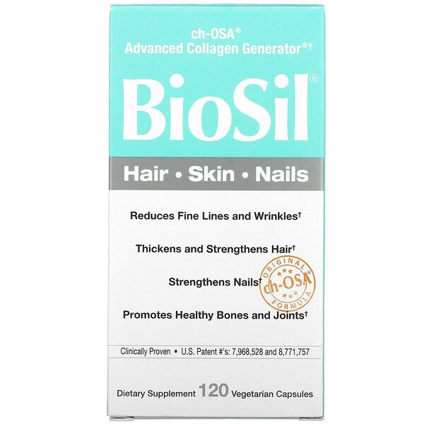 BioSil by Natural Factors, ch-OSA Advanced Collagen Generator, 120 Vegetarian Capsules