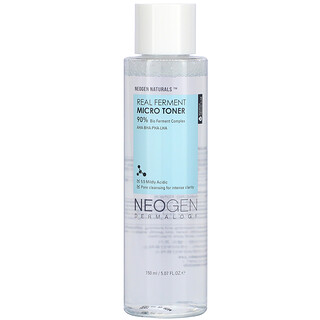 Neogen, 真正发酵微爽肤水,5.07 液量盎司(150 毫升)
